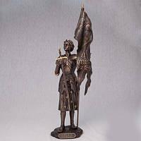 Бронзовая статуэтка Жанна д'Арк (36 см)