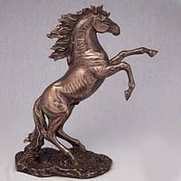 Бронзовая статуэтка Статуэтка Вздыбившийся конь (27*30 см)