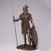 Бронзовая статуэтка Римский воин (34 см)