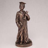 Бронзовая статуэтка Ученик (23 см)