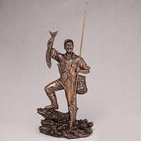 Бронзовая Статуэтка Рыбак (29 см)