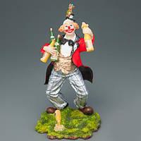 Статуэтка Клоун с шампанским (15 см)