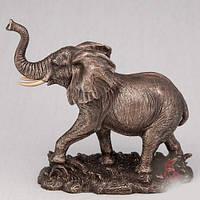 Бронзовая Статуэтка Слон (16 см)