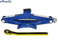 Домкрат механический ромбовидный 1.5т 390мм с трещеткой