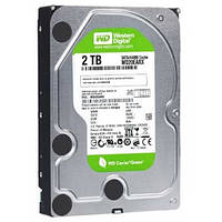 Жесткий диск Western Digital Green 2TB 5400rpm 64МB WD20EARX 3.5 SATA III б/у