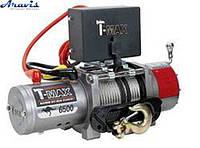 Лебідка автомобільна електрична T-Max EW-6500 12 В электролебедка