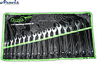 Набор ключей рожково-накидных 17 шт. (НК-2061-17) 6-24 мм ALLOID сумка