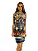 Яркое молодежное платье. Платье Капелька.
