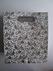 Подарочный пакет коробка под коровай / торт (плотный картон)