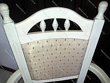 Стул обеденный Бреда с подлокотниками низкая GOOD WOOD Рускополянский Мебельный Комбинат Явир, фото 3