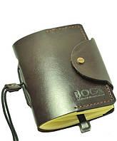 Мужской блокнот ручной работы из кожи BOGZ Notebook mini A Bordo