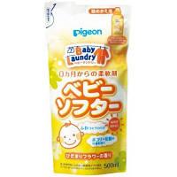 Бальзам-ополіскувач для дитячої білизни - змінний блок (Pigeon Japan), 500 мл