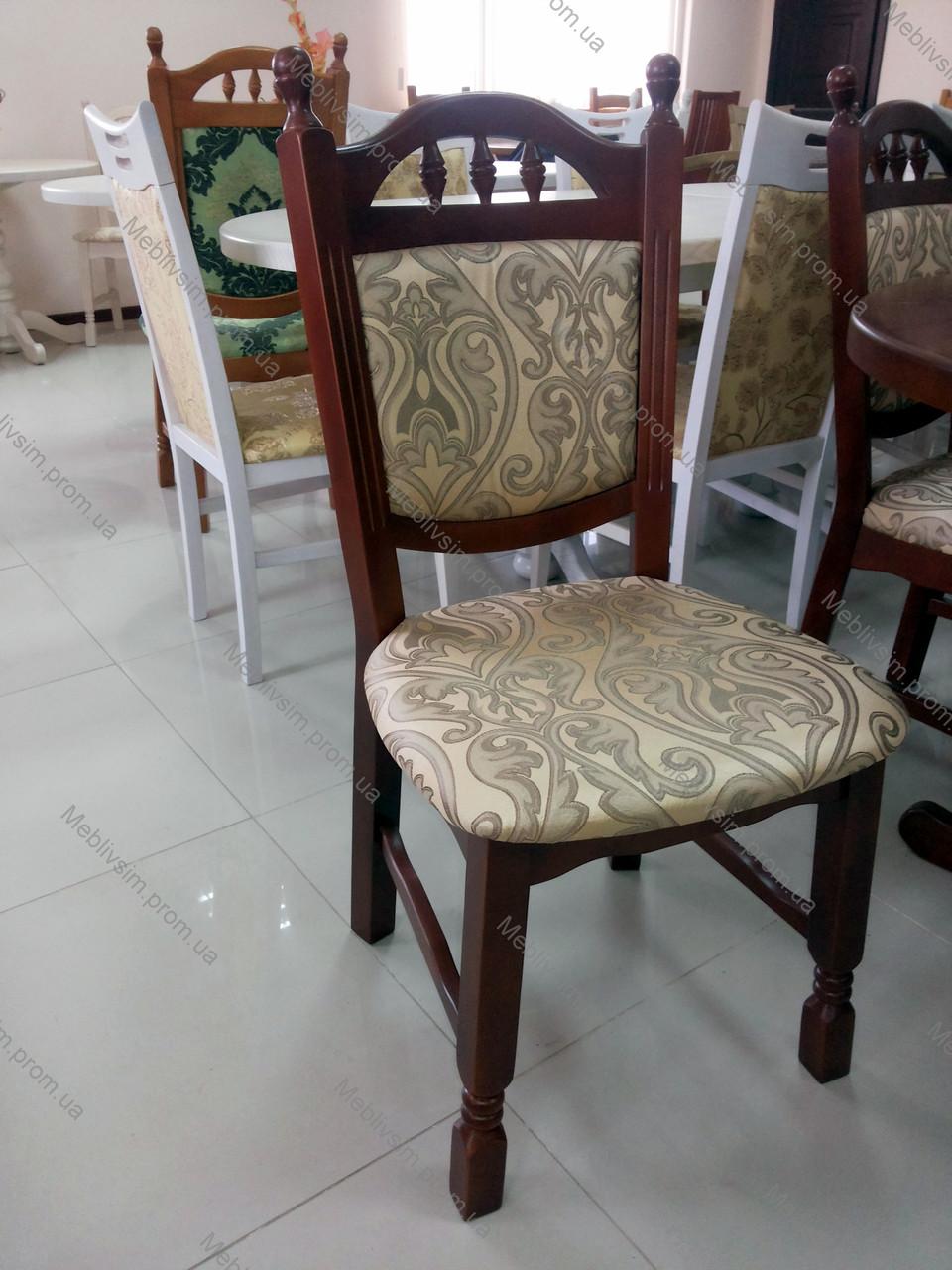 Стул обеденный деревянный Бреда низкая GOOD WOOD Рускополянский Мебельный Комбинат Явир