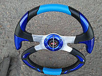Руль спортивный Формула №605 (синий)., фото 1