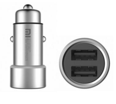 Автомобильное зарядное устройство Xiaomi Mi Car Charger (Silver)