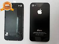 Задняя крышка Apple iPhone 4 и 4S черная и белая, фото 1