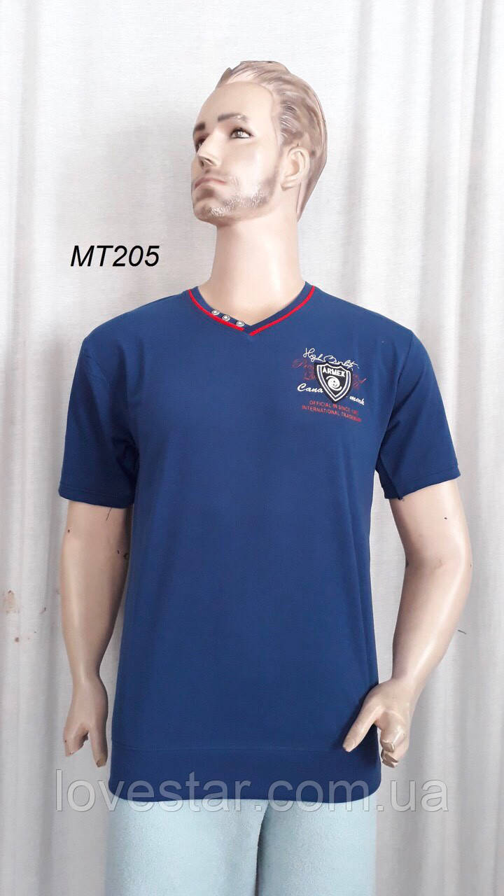 Мужская футболка хлопок XL-4XL