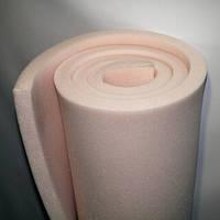 Поролон листовой пенополиуретан мебельный 50мм(50*200)