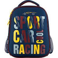 Рюкзак шкільний каркасний   531 Car KITE
