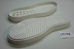 Подошва для обуви СМ148 белая р.40-45, фото 3
