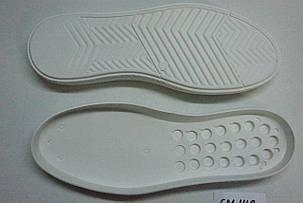 Подошва для обуви СМ148 белая р.40-45, фото 2
