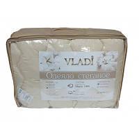 Одеяло стеганное детское 100х140см, шерсть Vladi, 2279