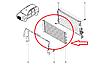 Радиатор системы кондиционера на Рено Дастер 1.5 dCI K9K Renault 921008028R (оригинал)