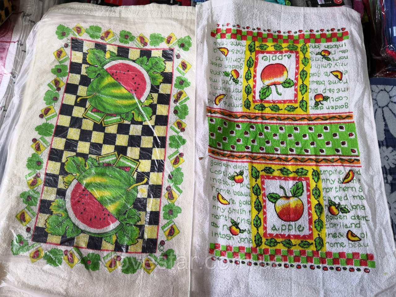 Махровое кухонное полотенце 38*65