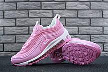 Женские кроссовки Nike Air Max 97 Rose топ реплика, фото 2