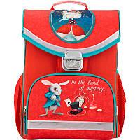 Рюкзак школьный каркасный Alice in wonderland, фото 1