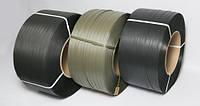 Лента упаковочная полипропиленовая черная усиленная 16 мм (толщина 0.8 и 1 мм)