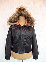 NEW LOOK  (48/ 50р) Куртка женская эко кожа