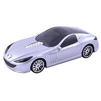 Радио колонка автомобиль 5091 peugeot, динамики 2*3вт, мр3-плеер, usb-flash, microsd, aux, led-подсветка