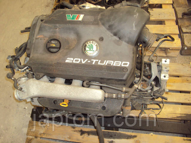 Мотор (Двигатель) Seat Leon VW Golf Audi A3 1.8 T AUQ 180л.с 2002r