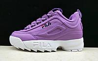 Кроссовки женские Fila Disruptor 2 Violet