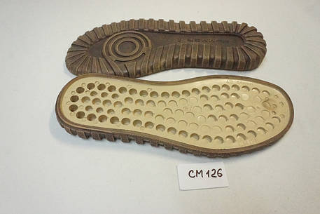 Подошва для обуви СМ126 коричневая р.40-45, фото 2