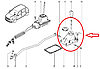 Кулиса КПП на Рено Логан 1, Логан 1 МСВ, Сандеро 1, Сандеро Степвей 1 Renault 8200869036 (оригианал)