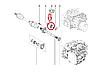 Подшипник подвесной промежуточного вала правой полуоси на Рено Кангу 2 Renault 397743841R (оригинал)