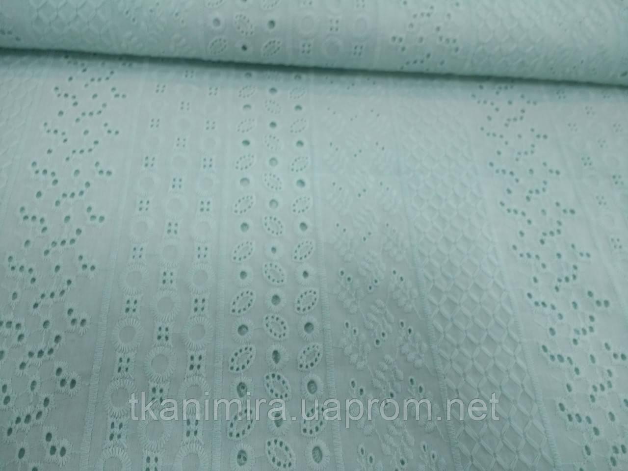 Ткань батист шитье