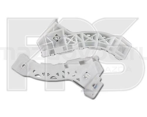 Крепеж переднего бампера Mazda 3 04-09 Седан, левый, пластмас., 3 см.