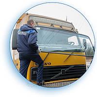 Установка лобовых стекол на грузовиках