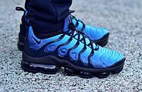 "Мужские кроссовки  Nike VaporMax Plus ""Triple blue"