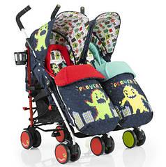 Детская коляска-трость для двойни Cosatto Supa Dupa 2016