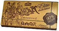"Шоколад черный ""Спартак"" Элитный (90% Какао) 90г. (Крафт-упаковка)"