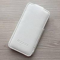 Чехол книжечка для Iphone 4/4s белая вертикальное открытие OZAKI