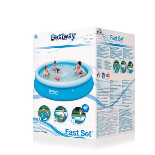 Надувной бассейн Bestway 5377L б/у