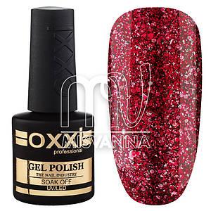 """Гель-лак OXXI Professional """"Star Gel"""" №1 красный с малиновым оттенком"""