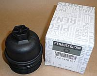 Корпус (крышка) масляного фильтра на Рено Сценик 3 1.6 dCI R9M Renault 7701478537 (оригинал)