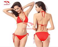Модный купальник раздельный 3 цвета код DM005 (красный)