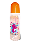 Пляшечка для годування 250 мл(пластик)
